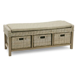 Rattan Bench By Beachcrest Home