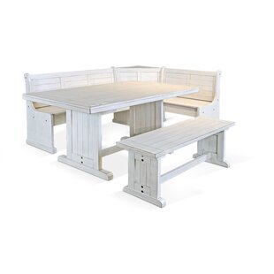 Hendrickson 4 Piece Breakfast Nook Dining..