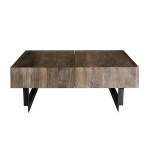 Union Rustic Brookside Coffee Table