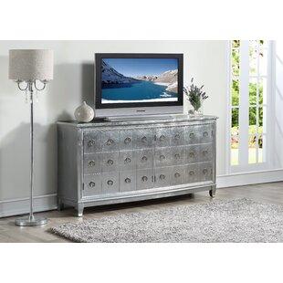 Lundgren 4 Door Media Credenza House of Hampton