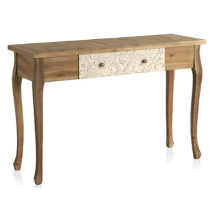 Fritts Wooden Carved 1 Drawer Console Table By Bloomsbury Market