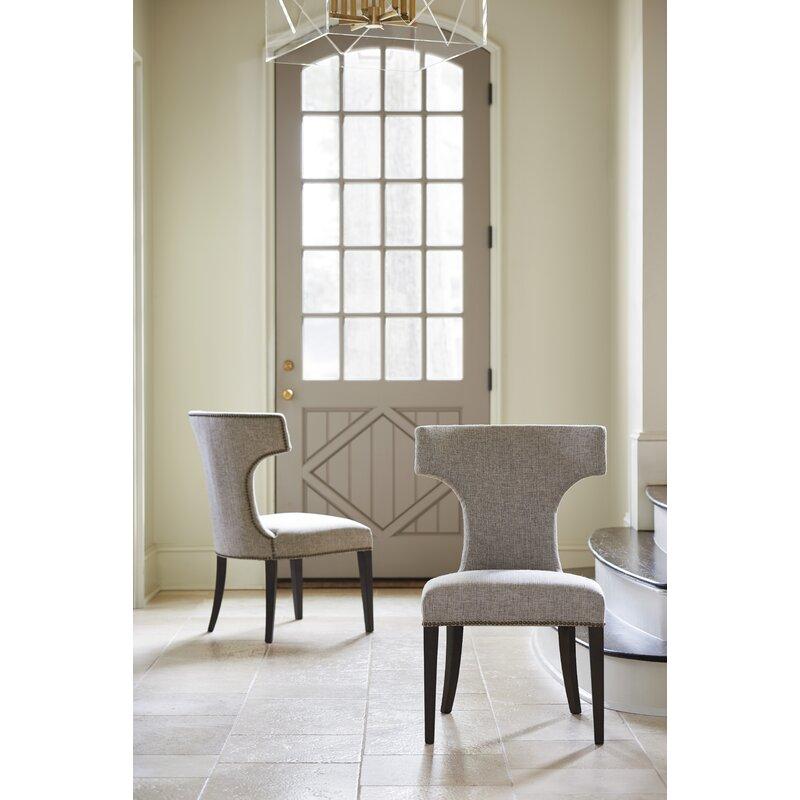 Everly Quinn Garton Upholstered Dining Chair   Wayfair.ca