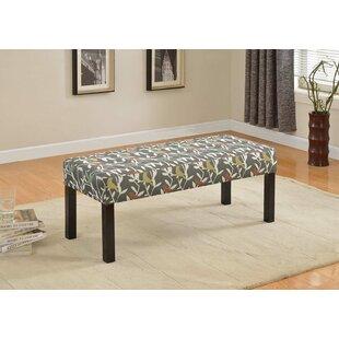 Winston Porter Cournoyer Upholstered Bench