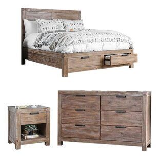 Benally Storage Panel Configurable Bedroom Set by Foundry Select Top Reviews