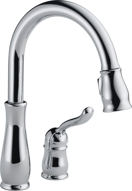 Leland Pull Down Touch Single Handle Kitchen Faucet