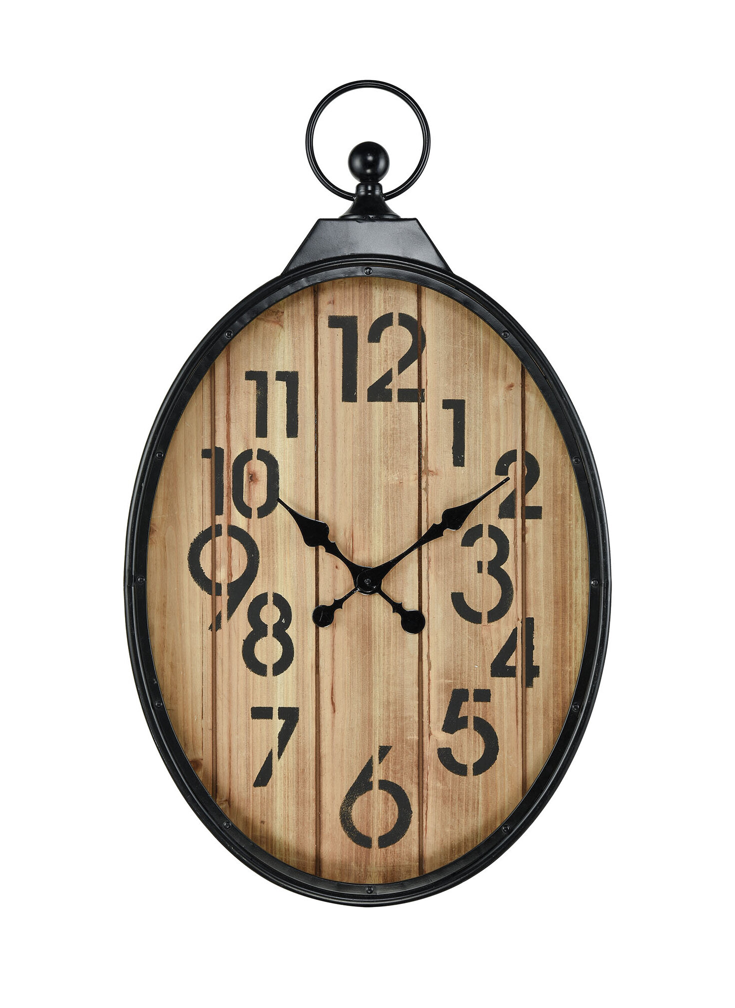 Gracie Oaks Tillotson Wall Clock | Wayfair
