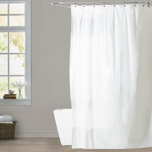 Extra Long Heavy Gauge Viny Single Shower Curtain