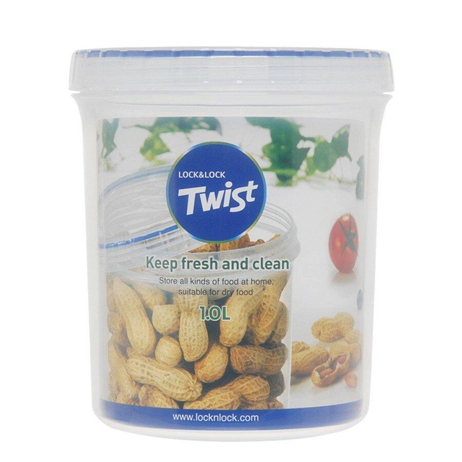 Lock Lock Twist Top Round 336 Oz Food Storage Container Wayfair