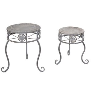 Erik 2-Piece Flower Stand Set By Lily Manor