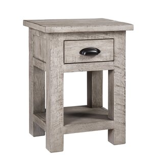 Pinole Point 1 Drawer Bedside Table By Beachcrest Home