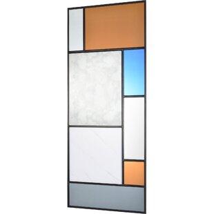 George Oliver Adrien Rectangular Framed Wall Mirror