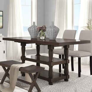 Fortunat Counter Height Extendable Dining Table by Laurel Foundry Modern Farmhouse
