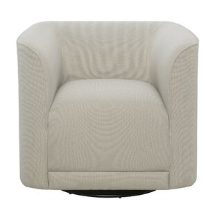 Find Seibert Swivel Barrel Chair By Orren Ellis