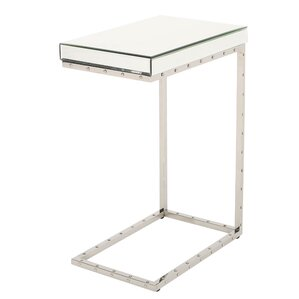 Borum Mirrored C Shape Accent End Tabe