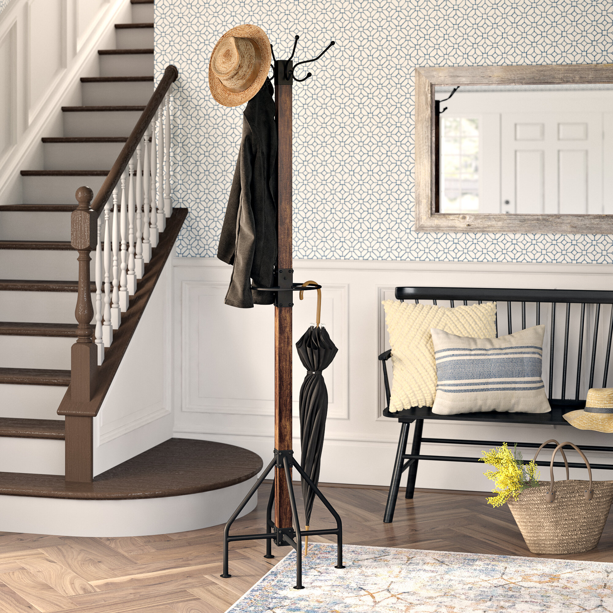 Freestanding Coat Racks You'll Love in 2021 | Wayfair