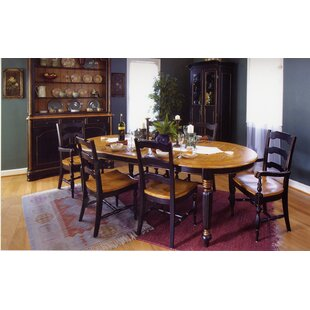 Spinelli Plank Top Solid Wood Dining Table Bay Isle Home
