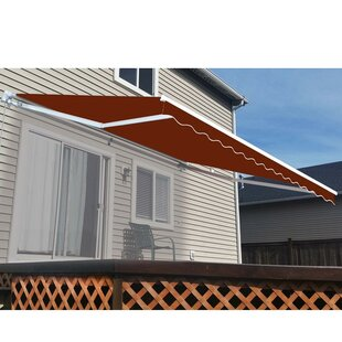 ALEKO 12 ft. W x 8 ft. D Retractable Patio Awning