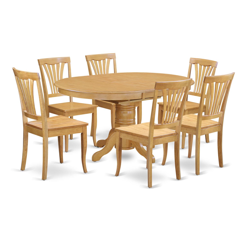 August Grove Spurling 7 Piece Dining Set Wayfair