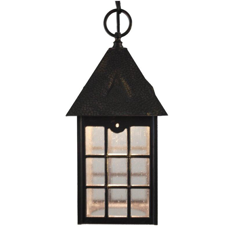 Charlton Home Flannigan 1 Bulb Outdoor Hanging Lantern Reviews