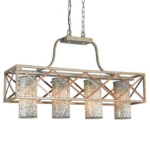 Woodbridge Lighting Braid 4-Light Kitchen Island Pendant