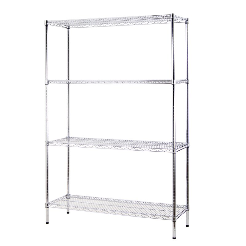 Enright All Purpose 4 Shelf Shelving Unit I