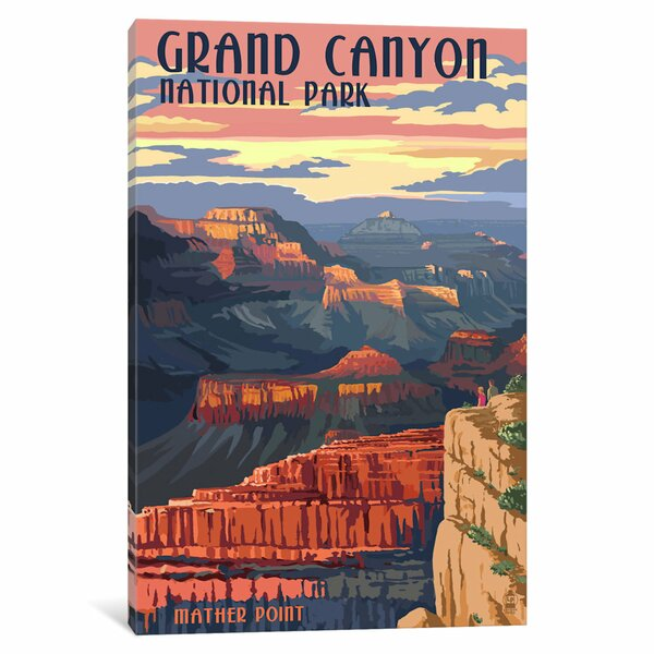 Vintage National Park Posters Wayfair