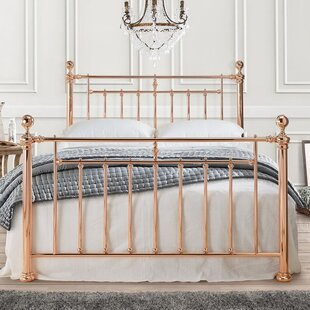 save off 0f8eb b0269 Rose Gold Double Bed | Wayfair.co.uk