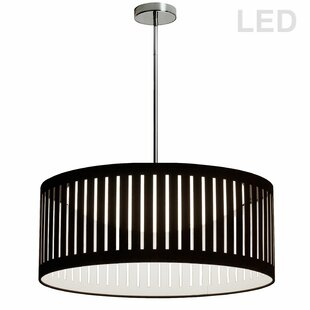 Mack & Milo Allsopp 1-Light LED Drum Pendant