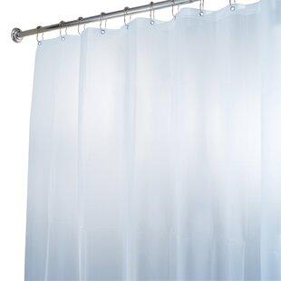 Lourie Vinyl Single Shower Curtain Liner