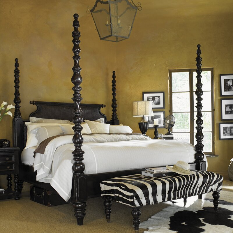 Four Poster Double Bed Part - 35: Kingstown Four Poster Bed