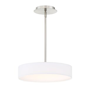 Orren Ellis Armbruster 1-Light Drum Pendant