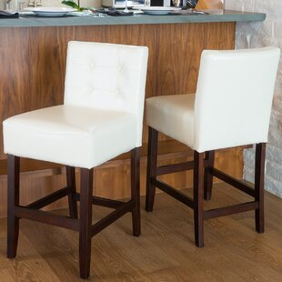 Mcauliffe 26 Bar Stool (Set Of 2) by Red Barrel Studio Great Reviews