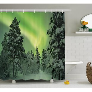 Dusk Sky Twilight Single Shower Curtain