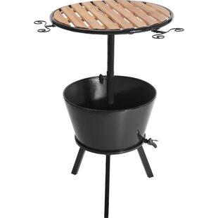 Olga Metal Bar Table With Cooler Bucket Image