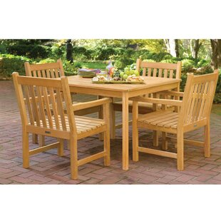 Shanita Shorea 5 Piece Dining Set