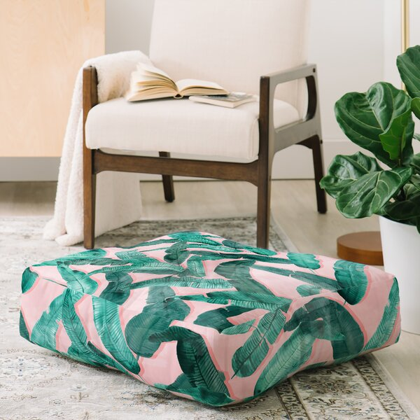 Peachy Banana Leaf Pillow Wayfair Machost Co Dining Chair Design Ideas Machostcouk