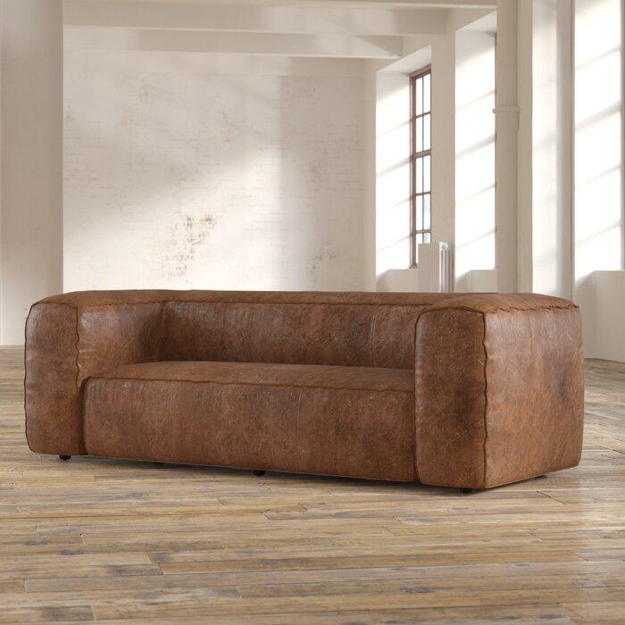 Miraculous Analise Leather Sofa Short Links Chair Design For Home Short Linksinfo