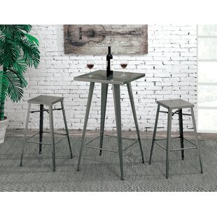 Grosetto 26 Bar Stool (Set of 2) 17 Stories