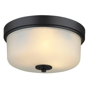 Alcott Hill Neiman 2-Light Flush Mount