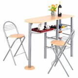 Minix Pub 3 Pieces Counter Height Dining Set by Latitude Run®