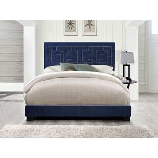 Permelia Upholstered Panel Bed