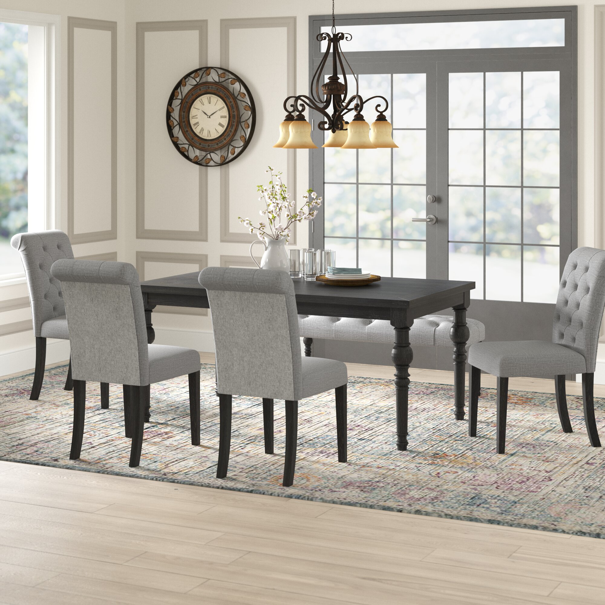 Black Kitchen Dining Room Sets You Ll Love In 2021 Wayfair