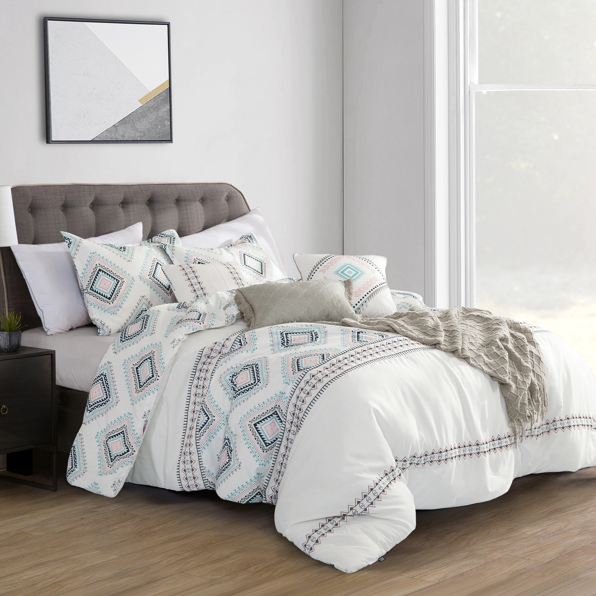 Union Rustic Jemma Union Rustic Comforter Set Wayfair
