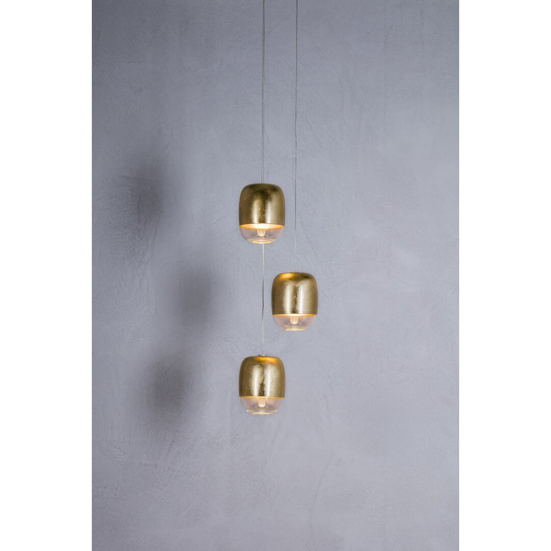 Gong 3 - Light Cluster Jar Pendant
