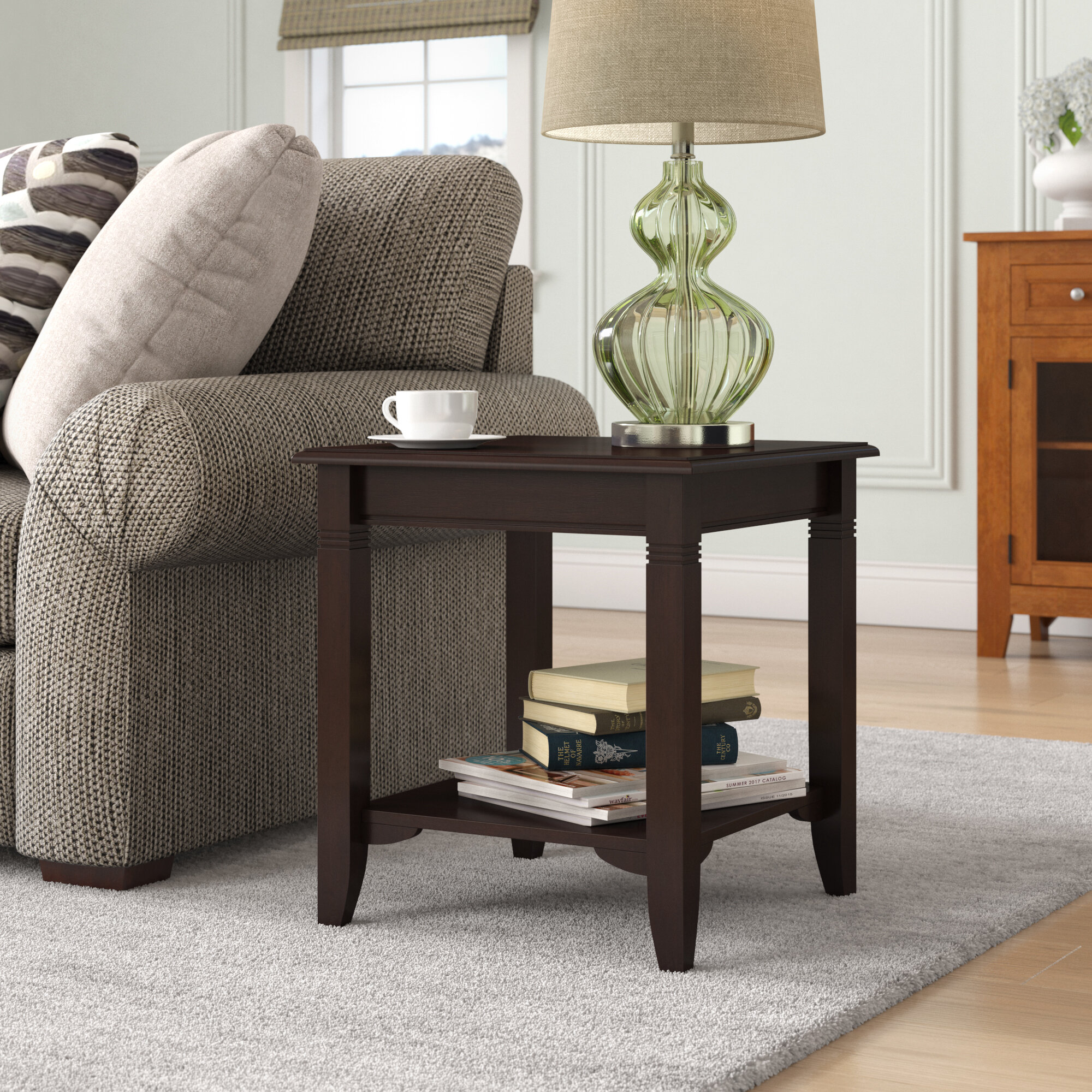 Colin End Table with Storage