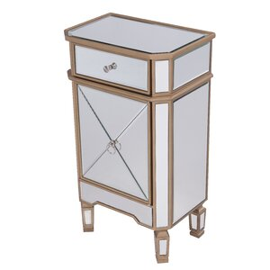 Emerita 1 Drawer Accent Cabinet