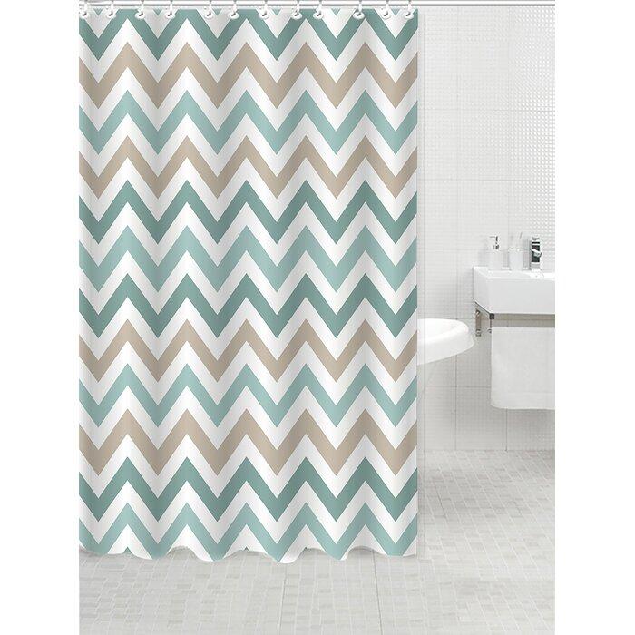 Verduzco Jacquard Shower Curtain
