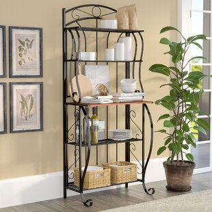 Trumer Iron Baker's Rack by Alcott H..
