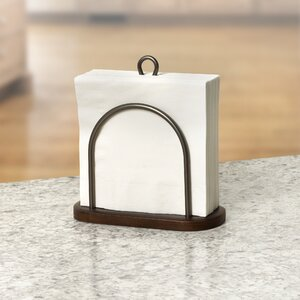 Rustic Standing Napkin Holder