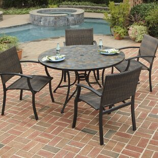 Loon Peak Sequoyah Large 5 Piece Dining Set